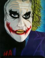 The Joker - Ha - Colored Pencil
