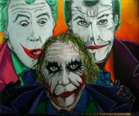 The Joker - Joker Evolution - Colored Pencil