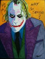The Joker - Joker Serious Business - Mixed Media