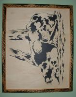 Bears - Cub In Tree - Scroll Saw