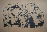 Bears - Dont Mess With Me - Scroll Saw