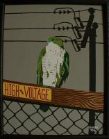 High Voltage - Acrylic Paintings - By John Saude, Bold Painting Artist