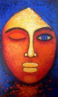 Face Series - Face I - Acrylic On Canvas