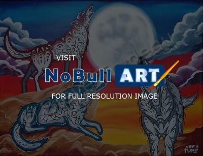 Steve Trudeau - Unity - Acrylic Paint On Canvas Ojibwa Art Paintings