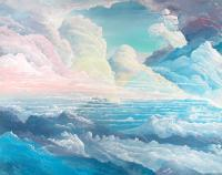 Cloudscapes - May Colored Clouds - Acrylic