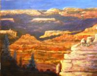 Southwest - The Canyon - Acrylic