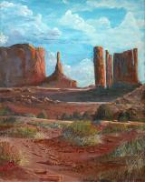 Southwest - The Monuments - Acrylic