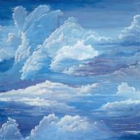 Cloudscapes - Pliots Dreams - Acrylic