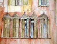 Venezia - Finestre - Watercolor