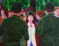 People - Insurgents - Oil On Canvas