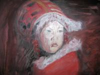 My  Work - Little Eskimo - Oil On Canvas
