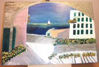 Liguria - Riviera - Oil On Canvas