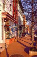 Baltimore-Fells Point - Thames Street In Fells Point Baltimore - Giclee Print