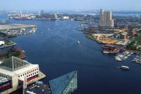 Baltimore-Fells Point - Baltimore Inner Harbor Vista - Giclee Print