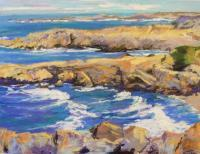 Seascapes - Asilomar - Pastel