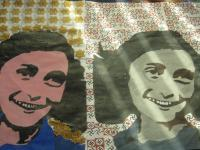 Painting - Anne Frank - Acrylic On Paper