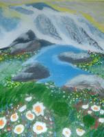 Paintings - Mountain Splendor - Acrylic