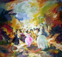 Impressionist - The Dancers 1 - Acrylic