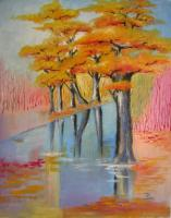Symbolic - Autumn - Oil On Canvas