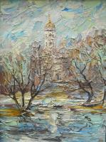Moscow Region - Dubrovitzy - Oil On Canvas