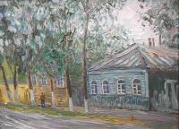 Moscow Region - Old Podolsk - Oil On Canvas