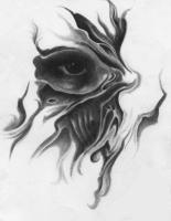 Charcoals - Eye - Charcoal Pencil On Paper