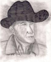 People - The Cowboy - Pencil And Paper