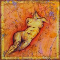 Figurative - Nude - Oil On Canvas