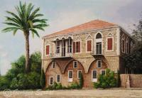 Landscapes - L 58 - Byblos - Available For Sale - Acrylic