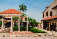 Landscapes - L 83 - Byblos Circle - Available For Sale - Acrylic