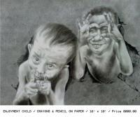 Multiple - Enjoymet Child - Pencil On Paper