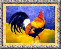 Animal - Rooster - Acrylic