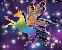 Alicorn - Digital Painting Digital - By Angela Nhu, Whimsical Digital Artist