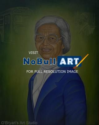 Paintings - Rosa Parks - Oils