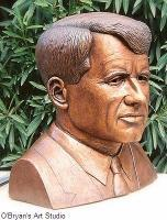 Portrait Busts - Robert Kennedy - Ceramic