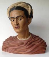 Portrait Busts - Frida Kahlo - Ceramic