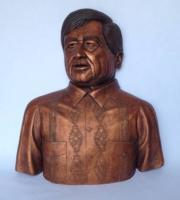 Portrait Busts - Cesar E Chavez - Ceramic