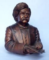Portrait Busts - Mark Twain - Ceramic