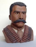 Portrait Busts - Emiliano Zapata - Ceramic