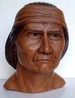 Portrait Busts - Geronimo - Ceramic