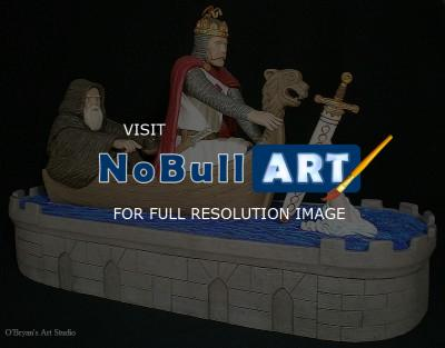 Figurative Sculpture - Excalibur - Ceramic