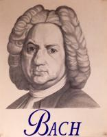 Illustration - Pencil Illustration Of Bach - Pencil
