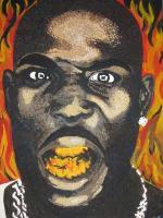 Celebrities - Fire-Dmx - Acrylic