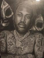 Celebrities - Meek Mill - Graphite