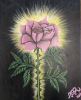 Mixed Medium - Rose - Acrylic