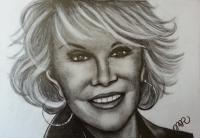 Celebrities - Joan Rivers - Graphite
