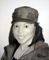 Portrait For Dan - Pencil And Marker Drawings - By Allen Palmer, Portrait Drawing Artist