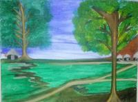 Watercolor Canvas - Native Trails - Watercolors