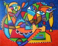 Artworks - Dar A Luz - Acrylic On Canvas