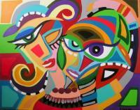 Artworks - Mona En Africa - Acrylic On Canvas